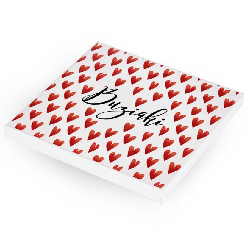 Bombonierka z krówkami - prezent na Walentynki