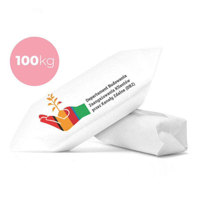 krówki firmowe 100 kg