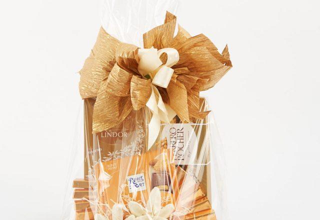 Kosz prezentowy ze słodyczami Lind, Ferrero Rocher