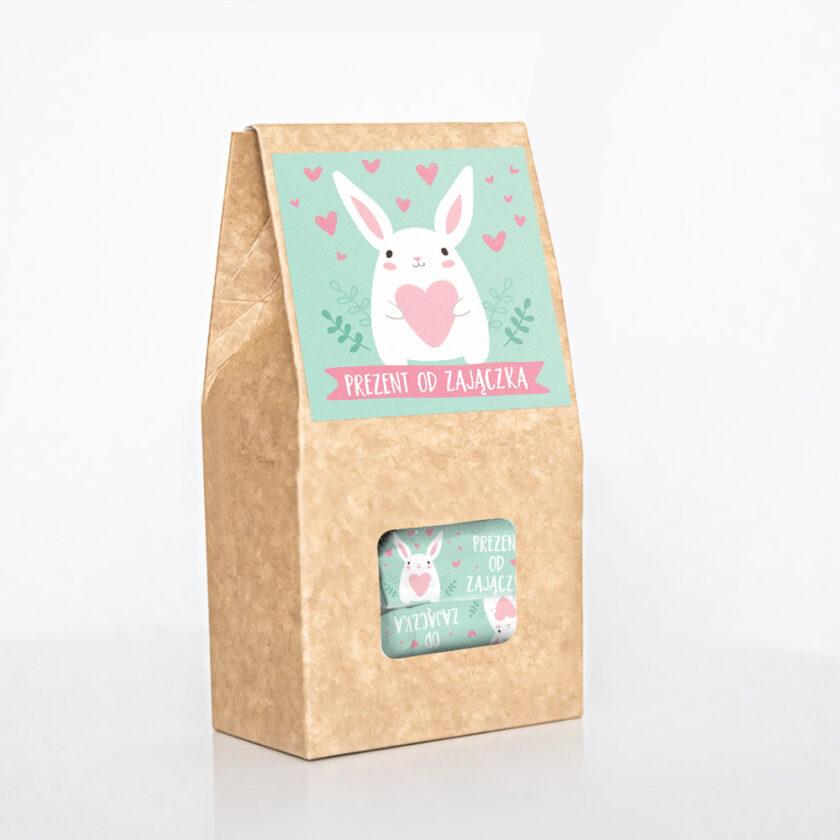 Pudełko od króliczka na Wielkanoc