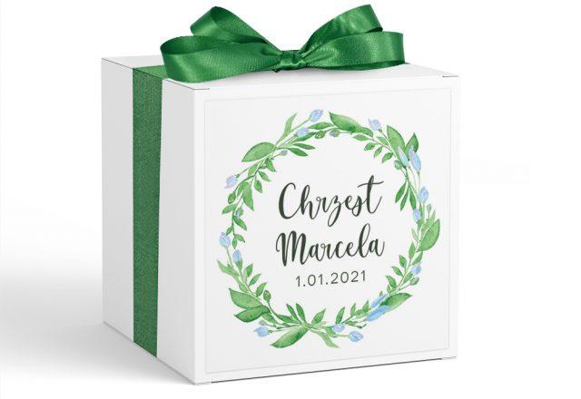 Pudełko z krówkami Chrzest Święty