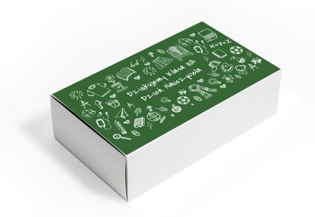 Pudełko z personalizacją na Dzień Nauczyciela
