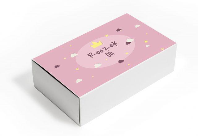 Pudełko z personalizacją na roczek